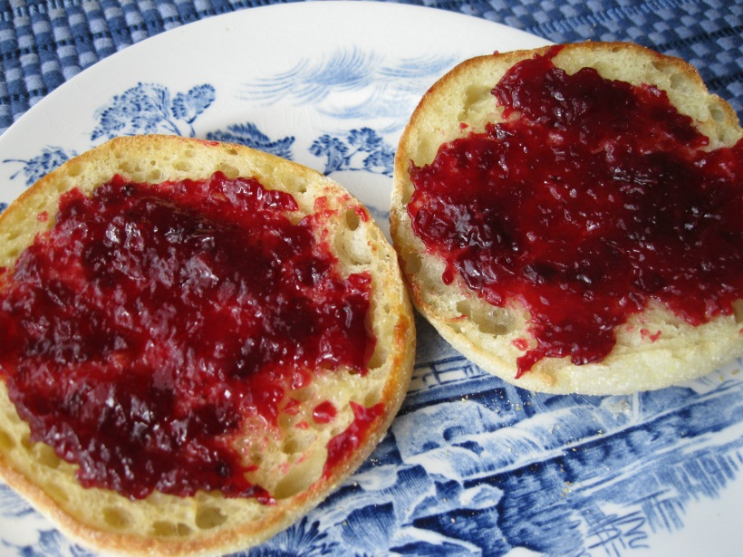 Cherry jam - the second batch.
