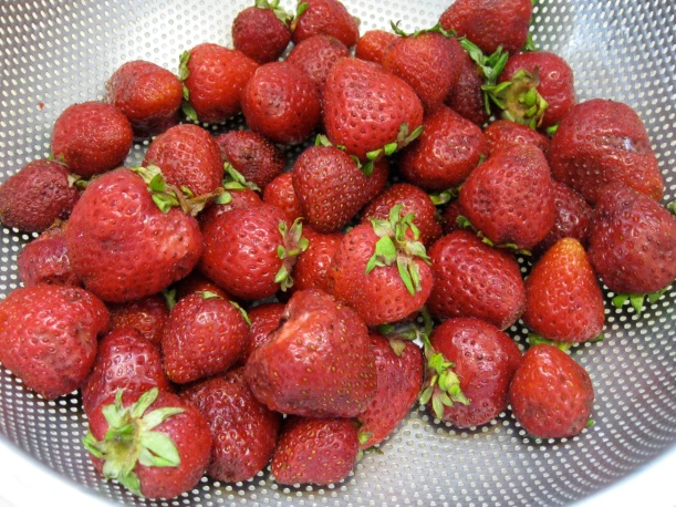 Small strawberries that pack a big flavor.