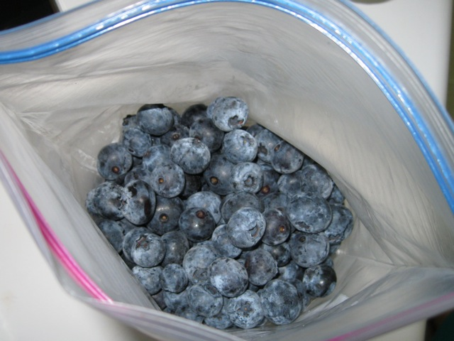 berries in bag