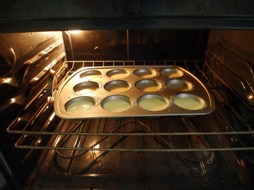 Popovers, just put in the oven.