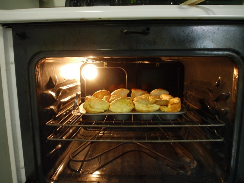 Here they are at the time I turn the temp down, a little more than half done.