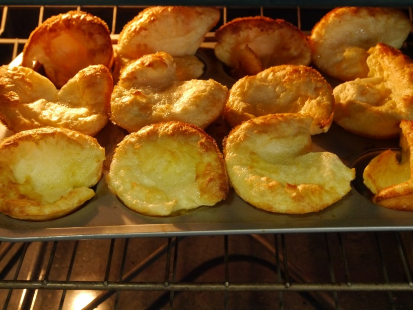 And here they are, all ready to eat! You can almost feel the crispiness, can't you!